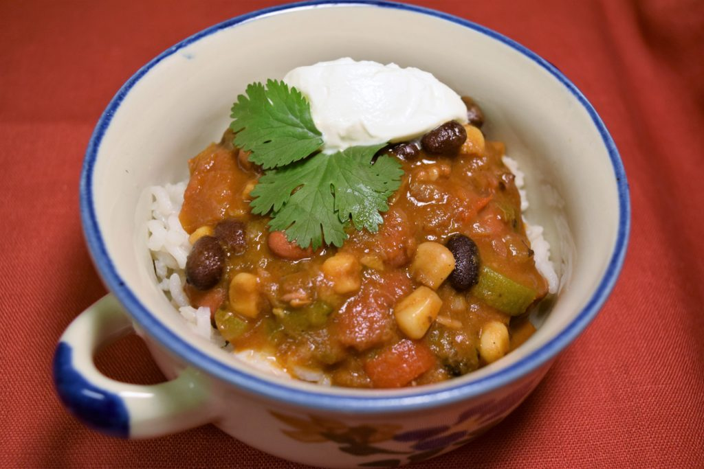 Simple Vegan Vegetable Chili