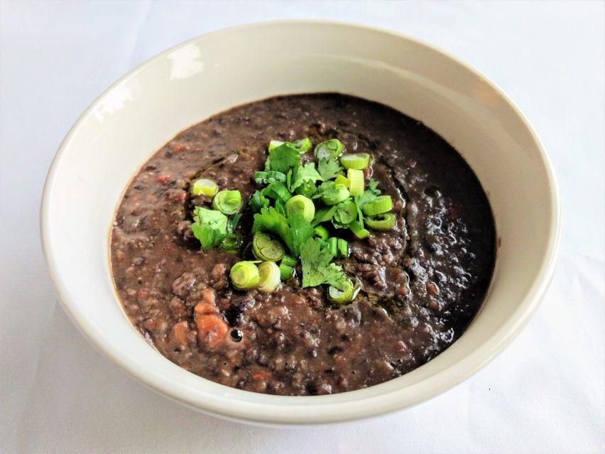 Vegan Brazilian Black Bean Soup