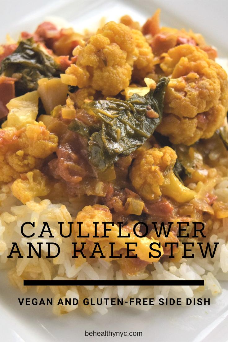 Vegan Cauliflower and Kale Stew