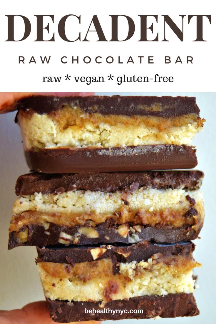 Raw Vegan Chocolate Bars