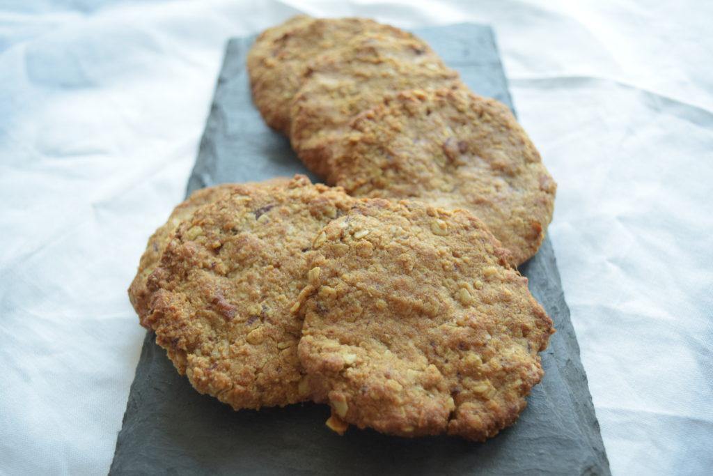 Vegan, gluten-free, refined sugar-free coconut cookies
