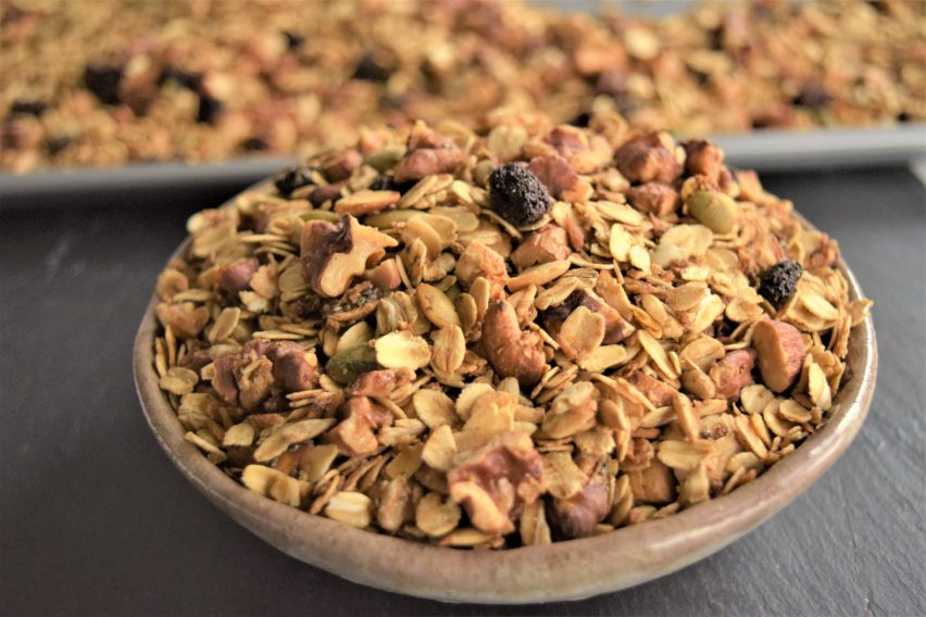 Homemade Vegan Spiced Granola