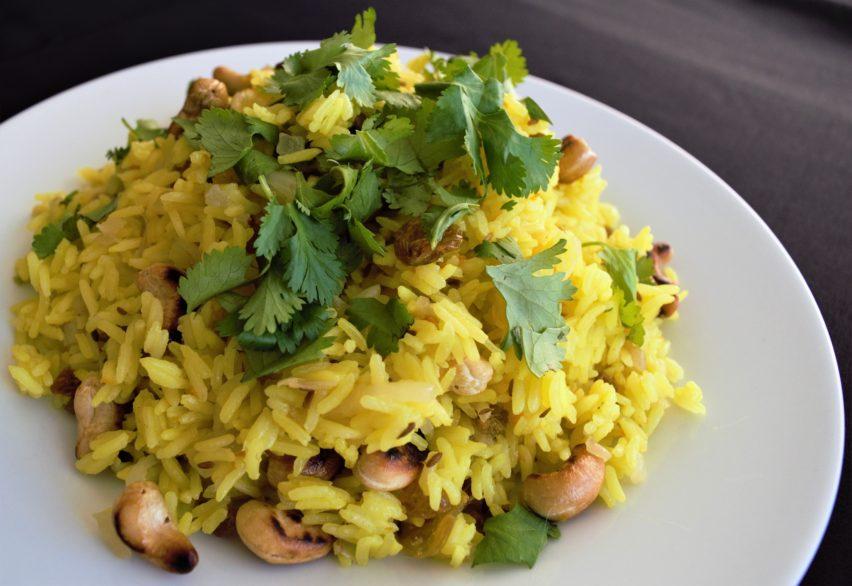Vegan Spiced Indian Rice