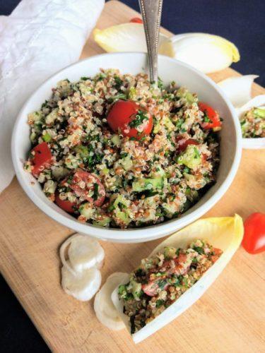Vegan Quinoa Tabbouleh Salad