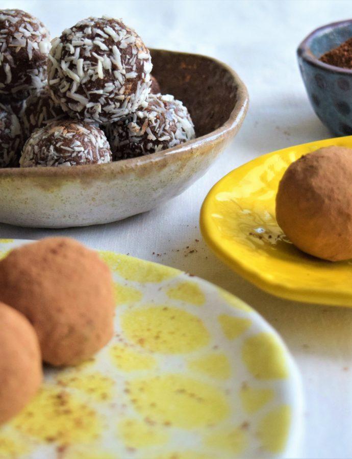 Raw Vegan Coconut Cream Energy Bites