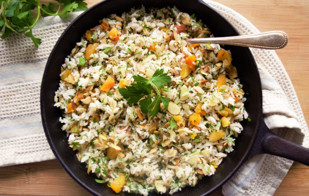 Almond and Apricot Rice
