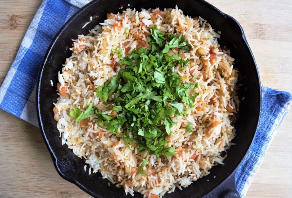 Vegan Mexican Tomato Rice