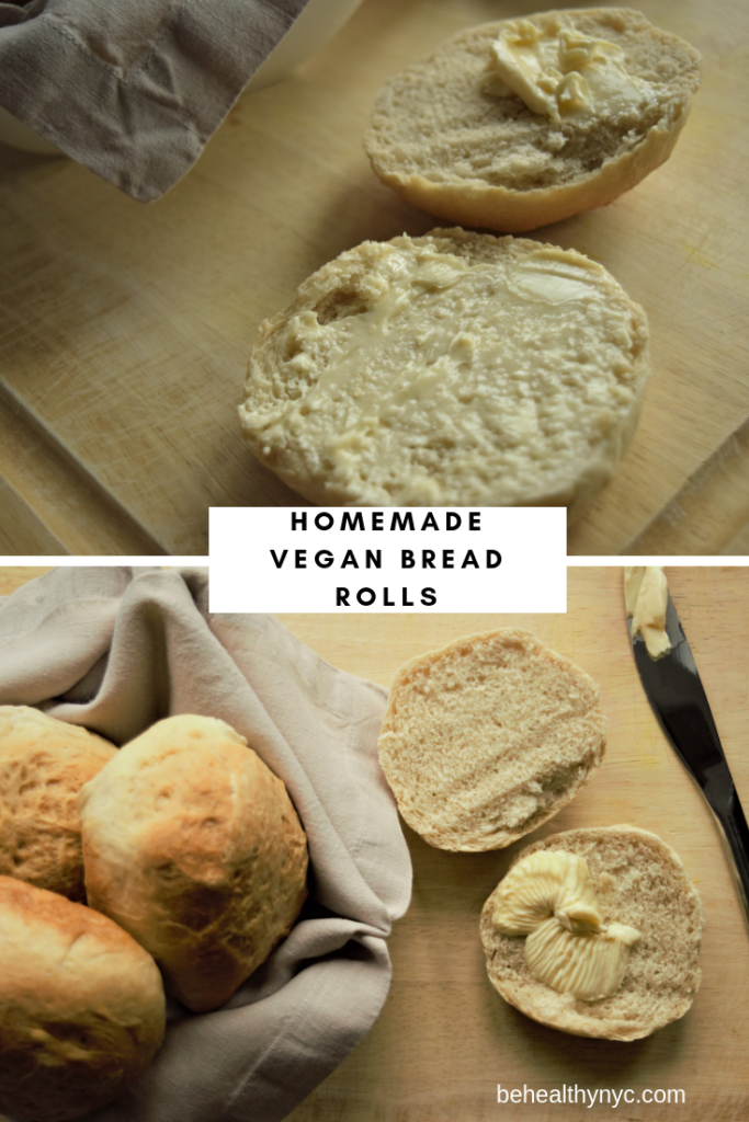 Homemade Vegan Dinner Rolls