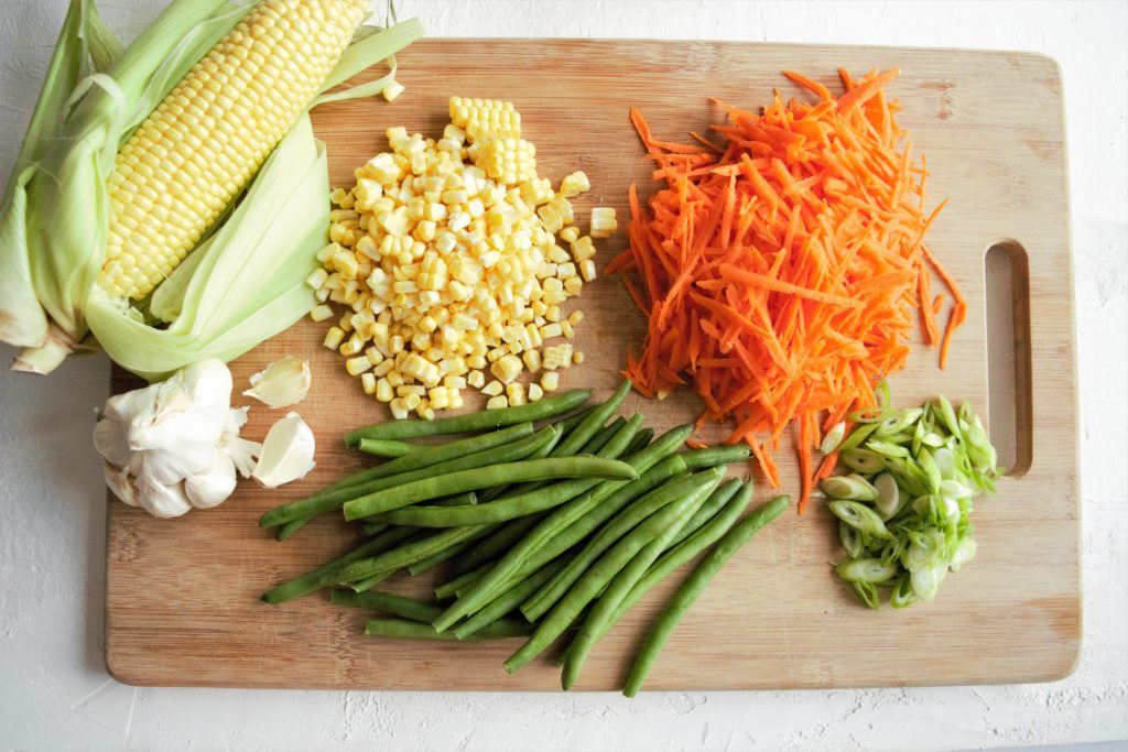corn saladeasy green bean, carrot and corn salad