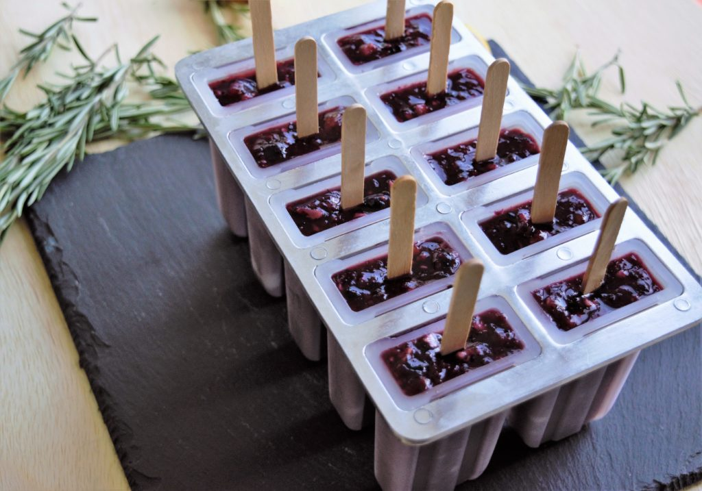 easy and delicious cranberry popsicles