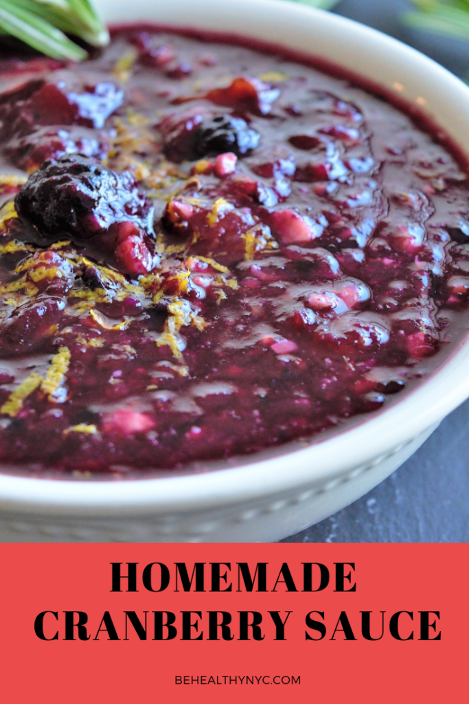 Homemade Cranberry Sauce Recipe - This traditional recipe is delicious and easy to make. Fruity, sweet and tart, it also makes a delicious popsicle!