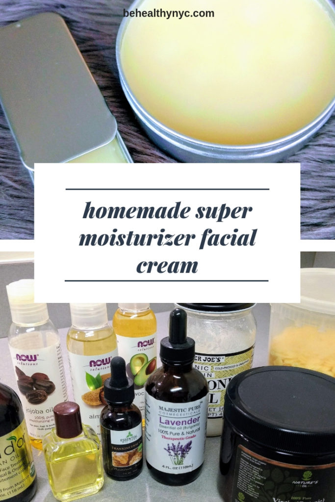 Learn how to make this amazing vegan homemade moisturizer facial cream. It is the best way to nourish your skin naturally.