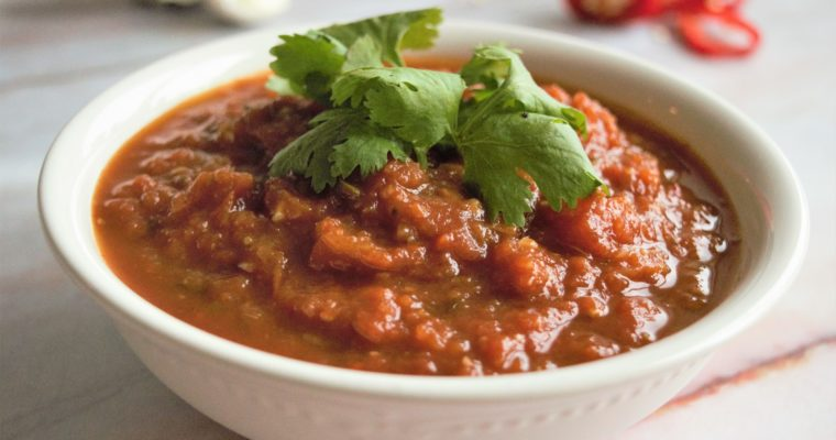 Vegan Red Mexican Sauce