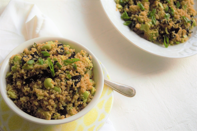 Asian Quinoa Salad Recipe