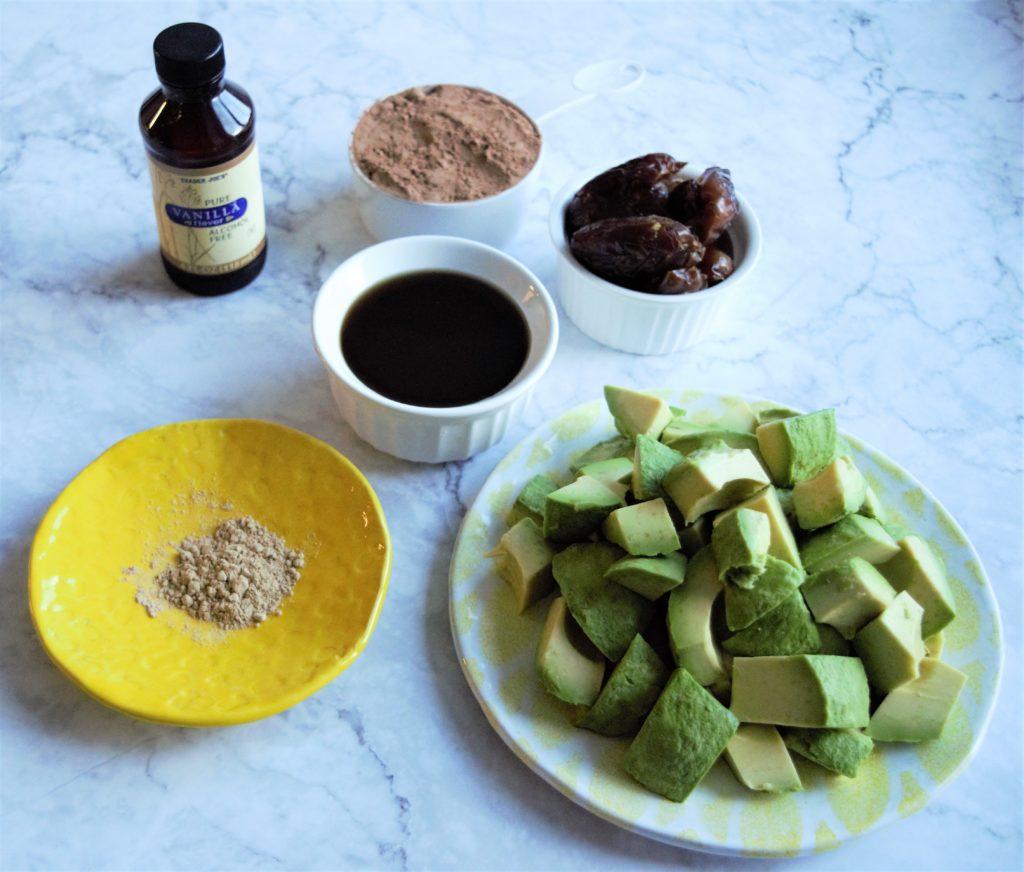 raw vegan chocolate mousse