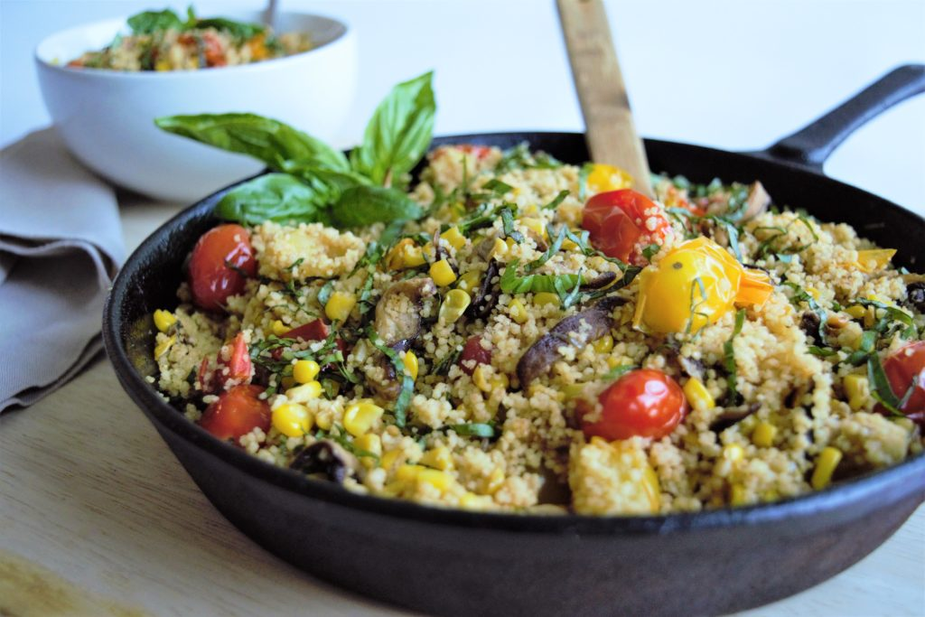 Easy Vegan Couscous
