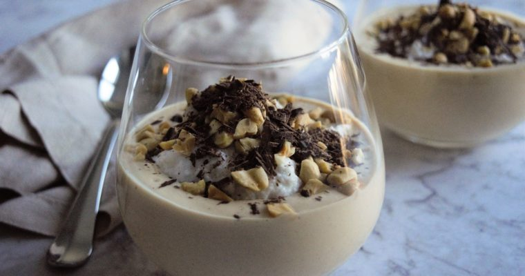 Tofu Chocolate and Peanut Butter Mousse