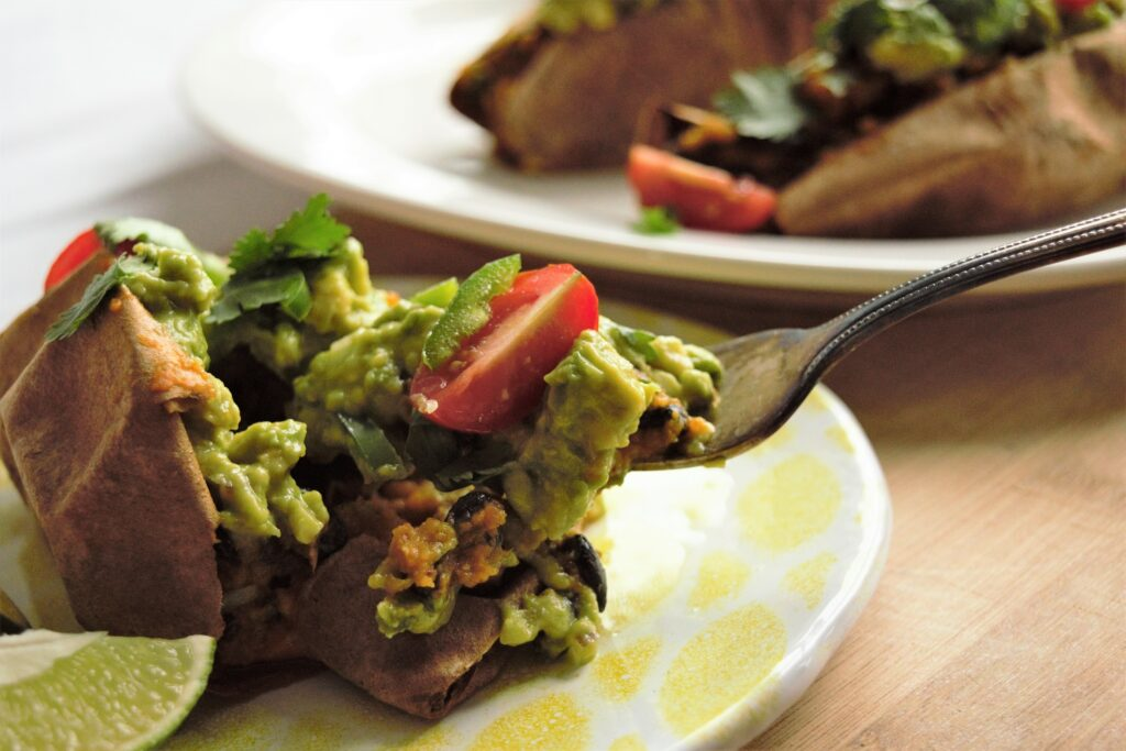 Vegan Stuffed Sweet Potatoes3
