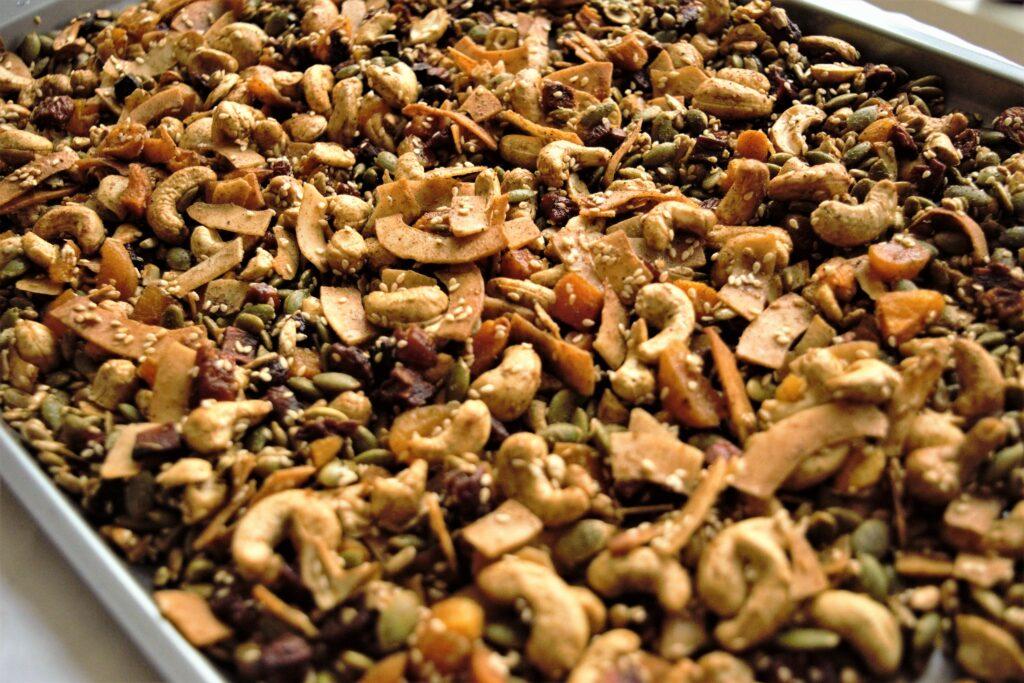 Vegan Paleo Chai Granola