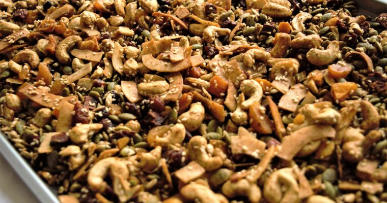 The Best Vegan Paleo Chai Granola