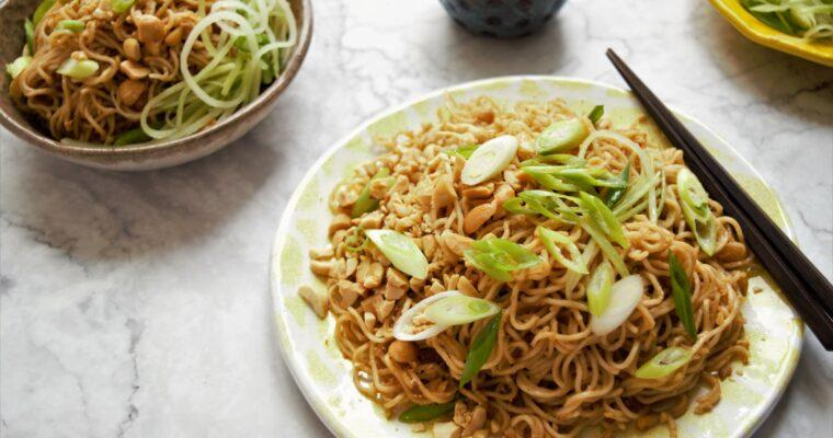 Vegan Takeout-Style Sesame Noodles